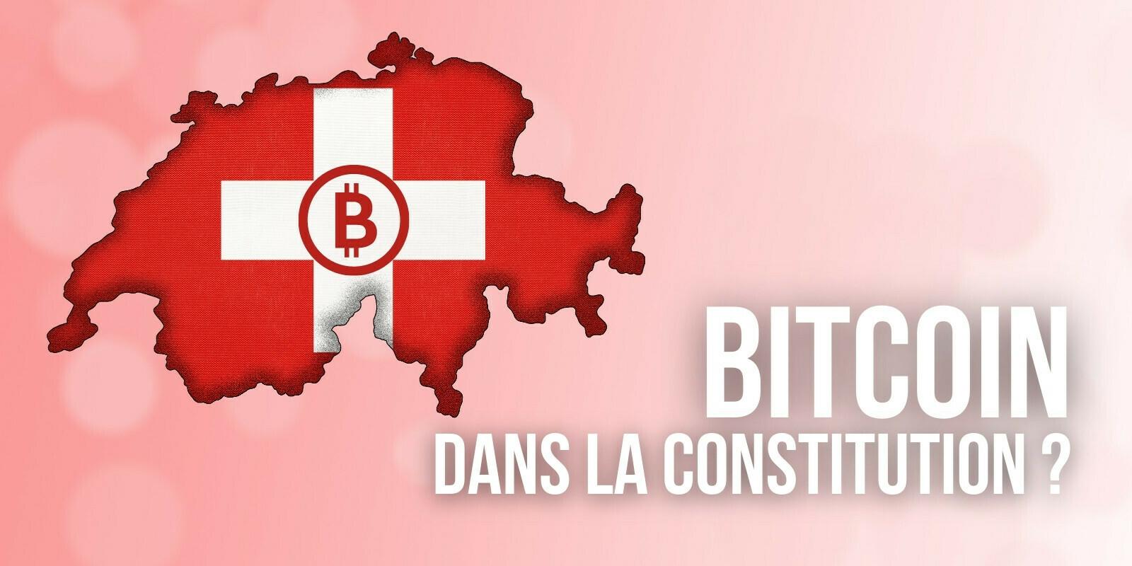 Suisse: un think tank propose d'ajouter le Bitcoin (BTC) à la constitution fédérale